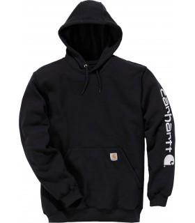 Sweat-shirt capuche logo - CARK288 50% coton / 50% polyester (sauf Heather Grey : 70% coton / 30% polyester)10.5 oz. Capuche tro