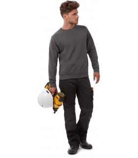 SWEAT-SHIRT HERO PRO - CGWUC20 80% coton peigné Ring-Spun / 20% polyester. PST : Perfect Sweat Technology. Bande de propreté à l
