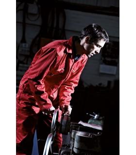 COMBINAISON REDHAWK - DWD4839 65% polyester / 35% coton. Fermeture éclair métal à double sens avec ouverture supérieure boutonné