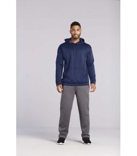 Sweatshirt capuche Performance - GI99500 100% polyester. Tissu Freshcare™ : propriétés anti-microbiennes. Capuche 3 pans avec co