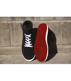 Chaussures de sécurité Reflect - R342M Chaussure montante à tige en cuir daim de vachette. Doublée maille filet et rembourrée à