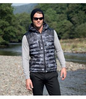 Bodywarmer Doudoune Camo - R404X Extérieur 100% polyester et doublure 100% polyester. Garnissage intérieur matelassé 100% polyes