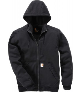 Sweat-shirt zippé capuche Windfighter - CAR101759 65% polyester / 27% coton / 8% PU extérieur avec traitement déperlant durable