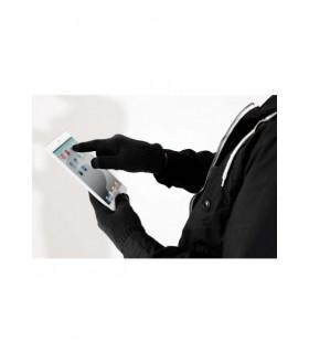 B490 - GANTS POUR ÉCRAN TACTILE 95% acrylique / 4% polyester/ 1% élasthanne. Gants compatibles écrans tactiles et smartphones.