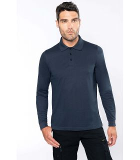 K276 - POLO MANCHES LONGUES HOMME |