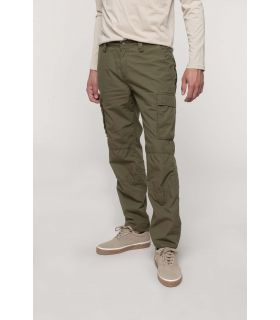 K745 - Pantalon léger multipoches homme |