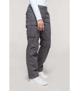 K746 - Pantalon léger multipoches femme |